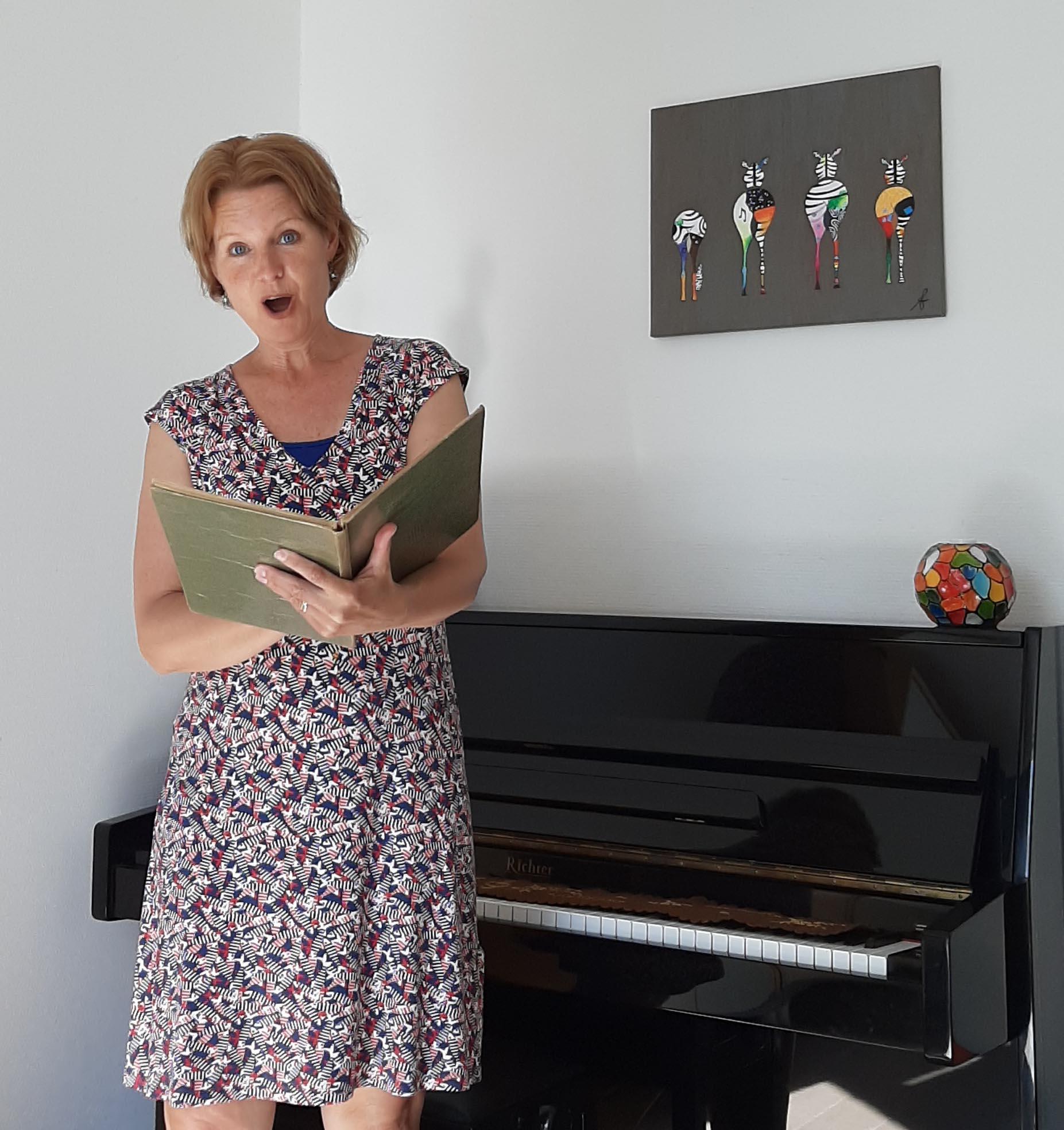 #ThuisbijCV sopraan Claudia Wijers