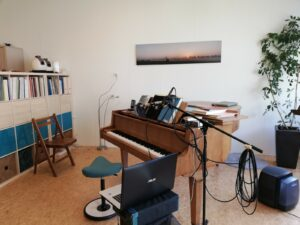 #ThuisbijCV sopraan Ivette van Laar - onlinen lesgeven